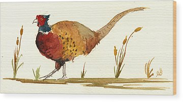 Pheasant Wood Prints