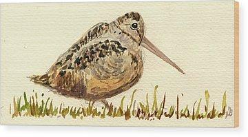 Woodcock Wood Prints