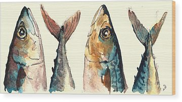 Fishes Wood Prints