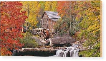 Grist Mill Wood Prints