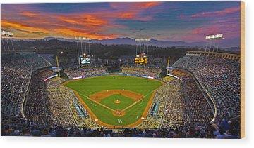 Los Angeles Dodgers Wood Prints