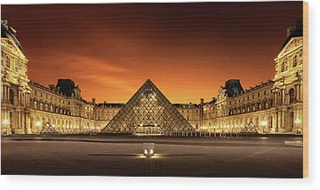Louvre Wood Prints