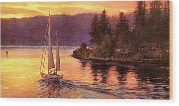 Twilight Wood Prints