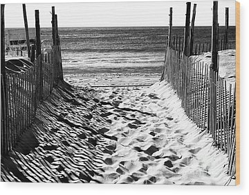 Jersey Shore Wood Prints