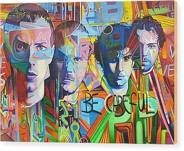 Coldplay Wood Prints
