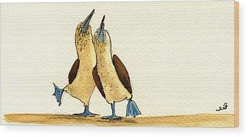 Sea Birds Wood Prints