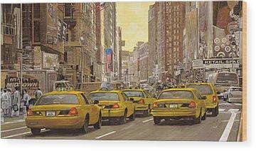 New York Wood Prints