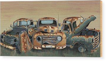 Ford Wood Prints