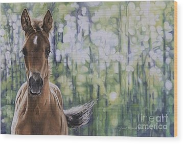 Filly Wood Prints