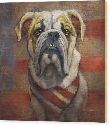 Pug Wood Prints