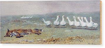 Gaggle Wood Prints