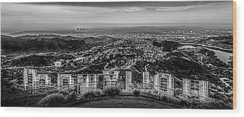 Hollywood Sign Wood Prints