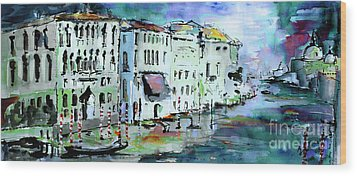 Venice Italy Ginette Wood Prints