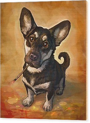 Pet Portraits Wood Prints