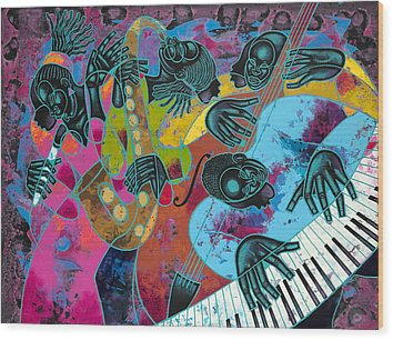 Poncho Wood Prints