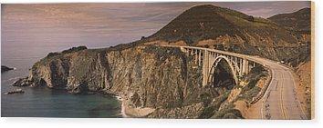 Bixby Bridge Wood Prints