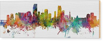 Designs Similar to Miami Florida Skyline Panoramic