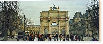 Arc De Triomphe Du Carrousel Wood Prints
