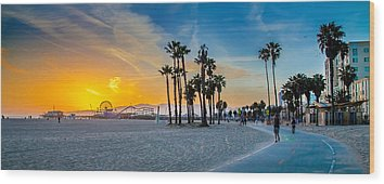 Santa Monica Wood Prints
