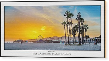 Venice Beach Wood Prints