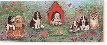 Doghouse Wood Prints