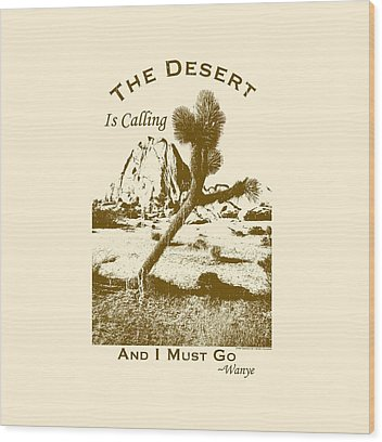 Joshua Tree Np Wood Prints