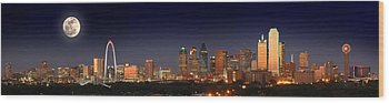 Dallas Skyline Wood Prints