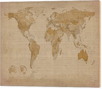 Old Wood Prints