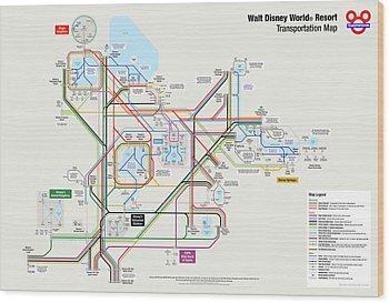 Walt Disney Wood Prints