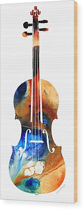 Violin Wood Prints