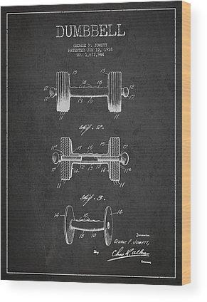 Weightlifting Wood Prints
