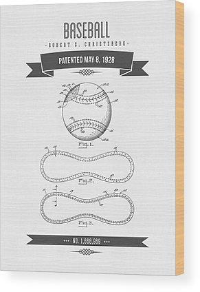 Designs Similar to 1928 Baseball Patent Drawing