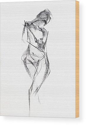 Pencil Drawings Wood Prints