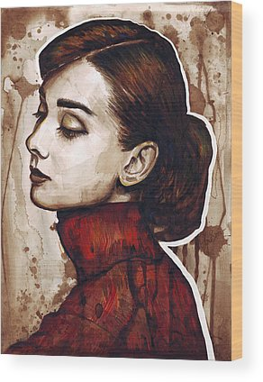 Inks Wood Prints