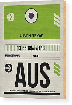 Texas Wood Prints