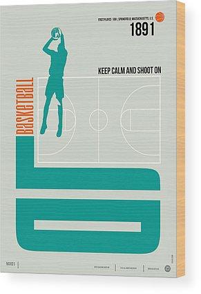 Basketball Wood Prints