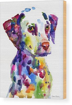 Custom Pet Portrait Wood Prints