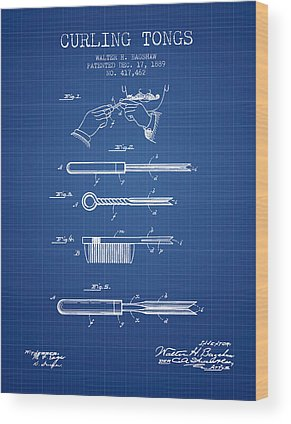 Patent Application Wood Prints