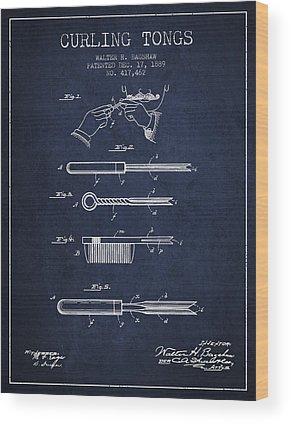 Blueprint Wood Prints