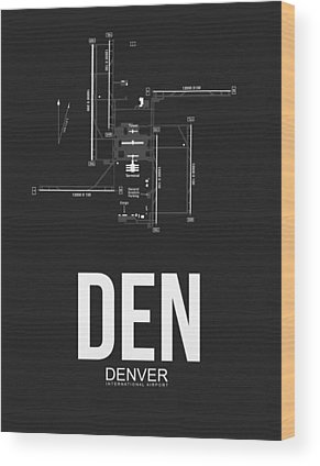 Denver City Wood Prints