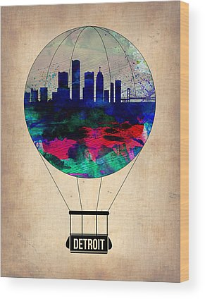 Detroit Wood Prints