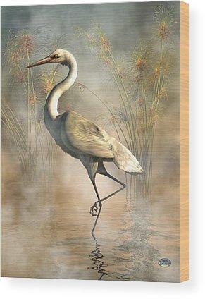 Stork Wood Prints