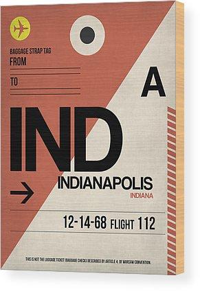 Indianapolis Wood Prints