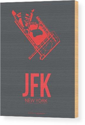 Jfk Wood Prints