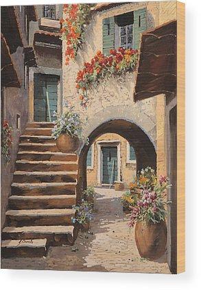 Steps Wood Prints