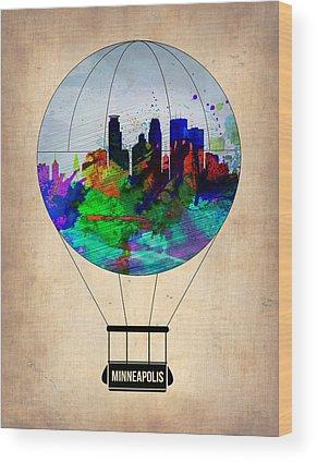 Minneapolis Wood Prints