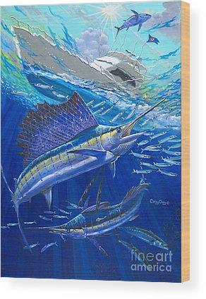 Swordfish Wood Prints
