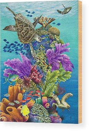 Carolyn Steele Wood Prints