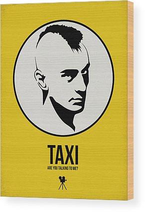 Taxi Driver Wood Prints