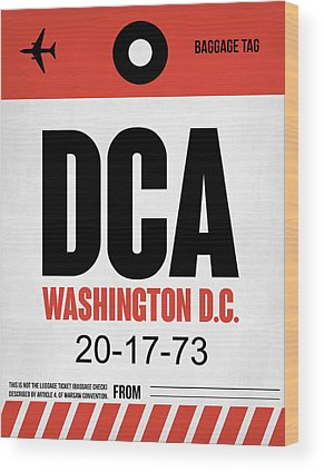 Washington D.c Wood Prints
